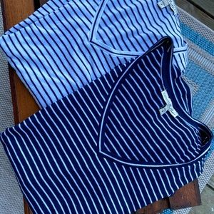Express One Eleven   Two* Striped Shirts